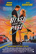Pop Culture Graphics Blast from The Past Poster 27x40 Brendan Fraser Alicia Silverstone Christopher Walken
