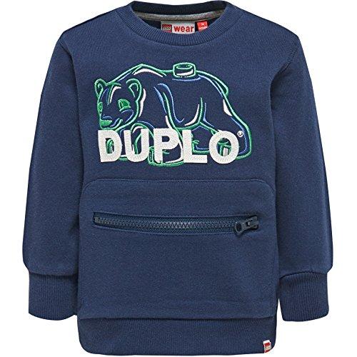 Lego Wear Duplo Boy SOFUS 601-SWEATSHIRT Maillot de survtement, Blau (Dark Navy 589), 18 Mois Bébé garçon