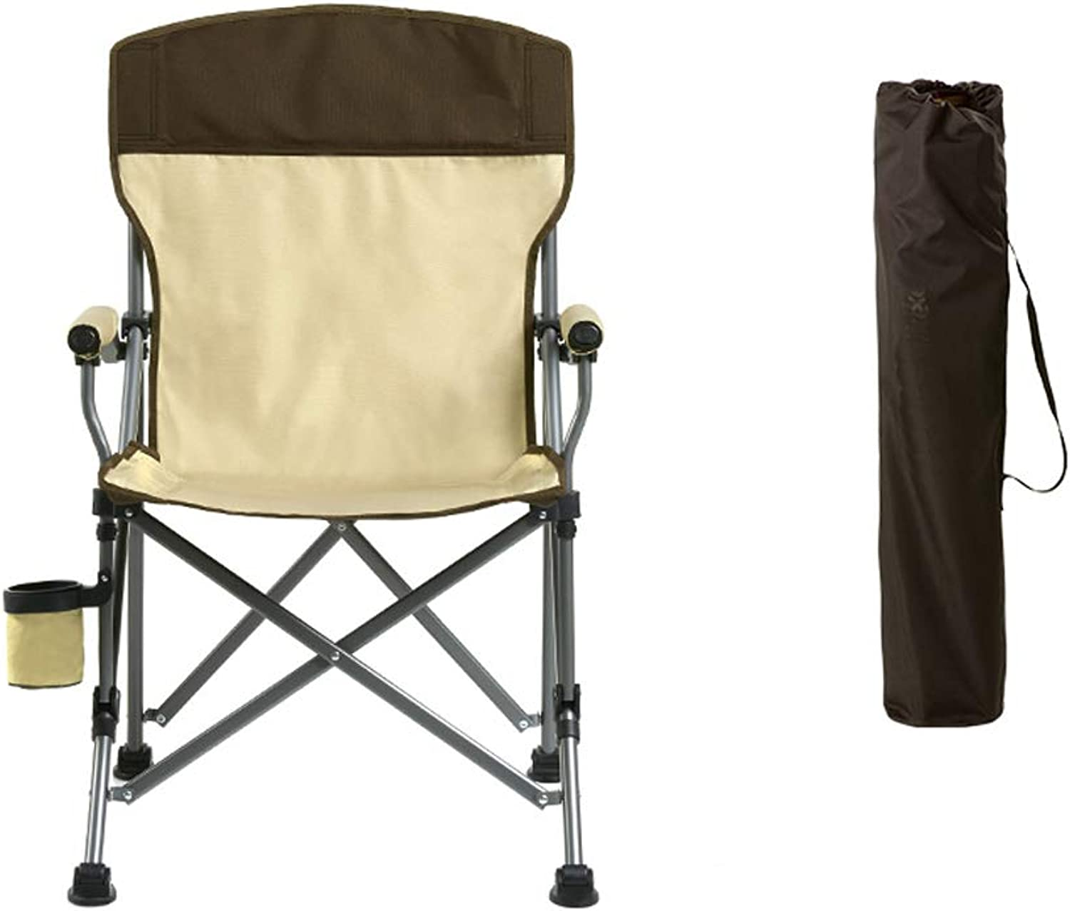 Folding Multi-Function Portable Fishing Stool for All Terrains, Strong Load-Bearing Capacity HBJP