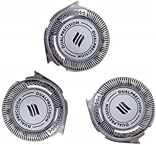 Yama HQ8 Replacement Heads for Philips Norelco Spectra Series 8800 7800(Pack of 3)