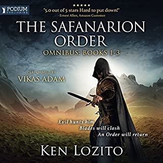 The Safanarion Order Omnibus, Books 1-3 cover art
