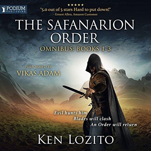 The Safanarion Order Omnibus, Books 1-3 audiobook cover art