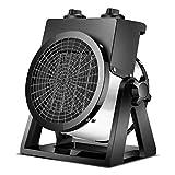 HNWTKJ Calefactor Eléctrico, Mini Calefactor Cerámico Calentador de Espacio Portátil Personal para Cuarto/Baño/Oficina, Anti Sobrecalentamiento, Portátil, Compacto (Color : White)