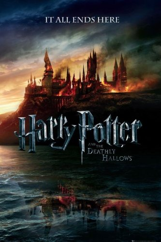 Harry Potter Maxi Poster 61 x 91,5 cm The End of an Era and the Deathly Hallows Plastifié
