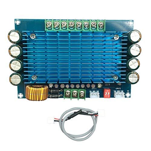 B Blesiya Placa Amplificadora Audio de Gran Potencia 50W X4 TDA7850 Coche 4 Canales DC12V
