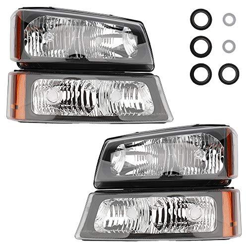 04 silverado oem headlights - 3