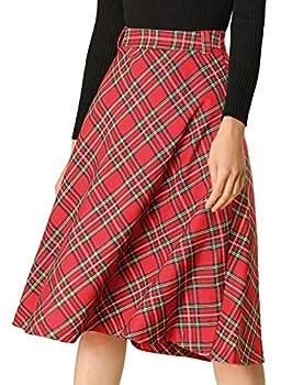 Best red tartan skirt Reviews