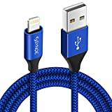 Synqe Nylon Braided USB Data Sync & Charging Cable for iPhones, iPad Air