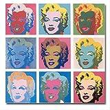 YGKDM Leinwand Malerei Wohnkultur 1 Stück Andy Warhol
