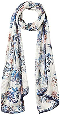 Vince Camuto Women's Woven Printed Scarf