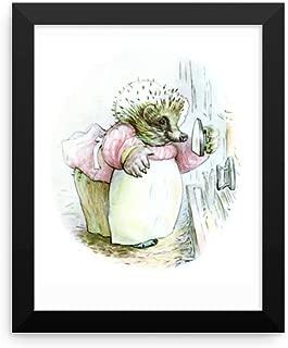 Paper Moon Media Mrs Tiggy Winkle Framed Poster, Beatrix Potter Peter Rabbit Framed Art Print