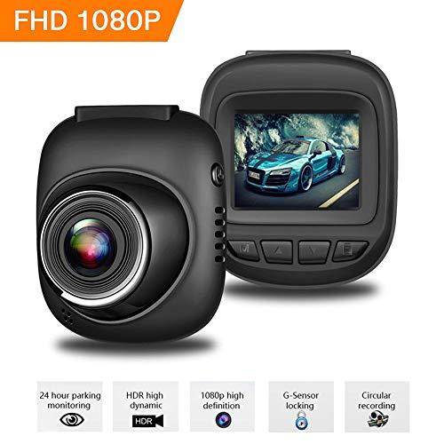 BQT Dash Cams Écran de 1,5 Pouces Full HD 1080P, avec caméra Grand Angle 170 °, Enregistrement de Boucle, détection de Mouvement et capteur G, caméra de Tableau de Bord Voiture