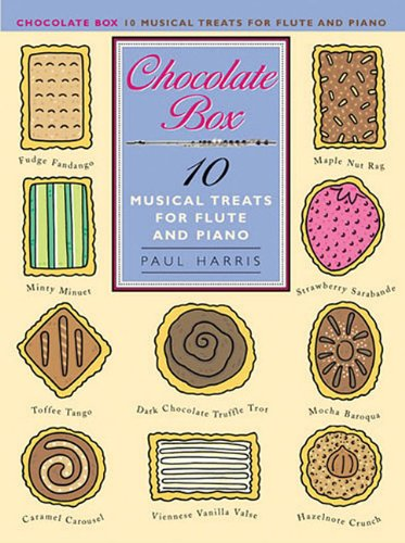 Chocolate Box Musical Treats -For Flute & Piano Accompaniment-: Noten, Stimme(n) für Flöte: For Flute and Piano Accompaniment
