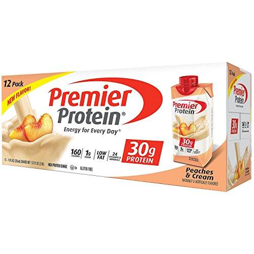 Premier Protein Peaches & Cream Flavor