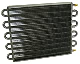 Derale 13315 Series 7000 Tube and Fin Cooler Core,Black