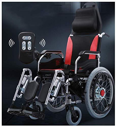 Elektrorollstuhl Leichter Rollstuhl Zusammenklappbarer Elektrorollstuhl Elektrorollstuhlantrieb Tragbarer Elektrorollstuhl mit Fernbedienung Einstellbare Geschwindigkeit mit...