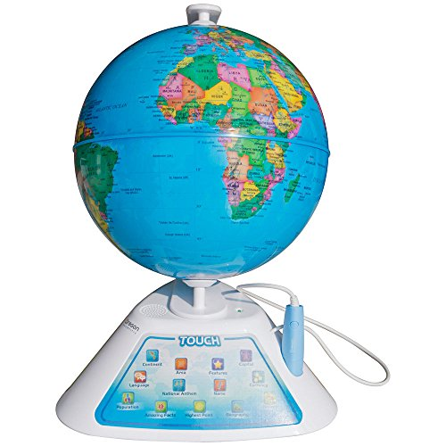 Restonc Oregon Scientific SmartGlobe Discovery Education Learning Geography Globe SG268 (Ship from US)