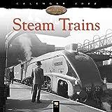 Steam Trains Heritage Wall Calendar 2022 (Art Calendar)