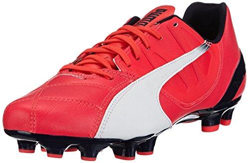 Puma Herren EVO Speed 3.3 FG 103014 0342,5 Fußballschuhe, Rot (bright plasma-white-peacoat 03), 42.5 EU