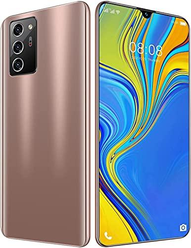 Outskirts Smartphone Sin SIM, Teléfono Móvil, 12GB + 512GB, Puede Mostrar 4G / 5G Network 5600mah Capacity Battery Cheap Smart Phone (Color : Blue)
