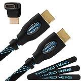 Twisted Veins câble HDMI, 30 mètres, câble extra long supporte, longueur maximale en un seul câble - option de remplacement...