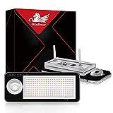 WinPower LED Luces de matrícula 18SMD Bombilla de luz de matrícula 6000K Blanco Sin errores para A4 S4 RS4 A6 S6 RS6, 2 Piezas