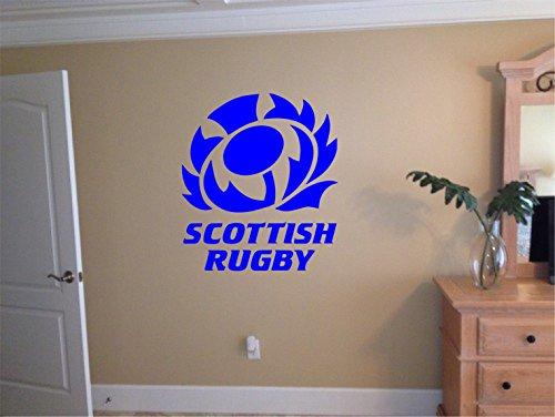 Medium Scotland Rugby Wall Decal 56 cm x 63cm