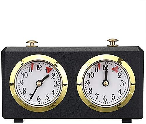 MLL Temporizador de Reloj de ajedrez, Reloj de ajedrez Dgt Tradicional, Cuenta atrás Digital Temporizador de Cuenta Regresiva Mecánico Reloj de Temporizador de Juego de ajedrez Internacional Reloj de