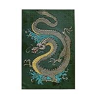 1000ピース ジグソーパズル 中國龍(竜) ジグソーパズル 木製パズル Puzzles 50x75cm(6歳以上が適しています)