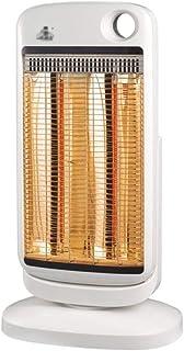 MAHZONG Radiador eléctrico Calentador eléctrico portátil vertical oscilante con función de calentamiento rápido, ahorro de energía, ventilador eléctrico Calefacción - Dormitorio -900w Sala de estar Of