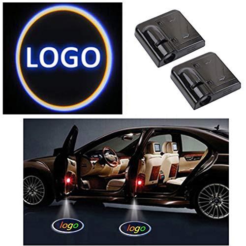NA Auto Logo Lichter 2Pcs Autotür Willkommen Logo Lichtprojektor Ghost Shadow Lamp Amp Für Bwm , Für Mercedes Benz , Für Audi , Für Vw