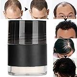Polvo para el cabello profesional, espesante de fibras naturales de construcción, textura, peinado, manchas calvas, corrector de pérdida de cabello, espray en polvo más para mujeres(Blanco)