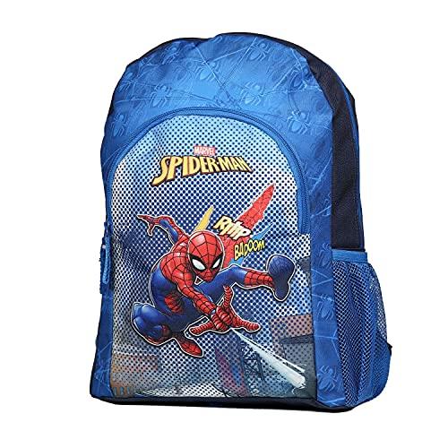 Sac à Dos 37 cm Spider-Man Spiderman Marvel Bleu...