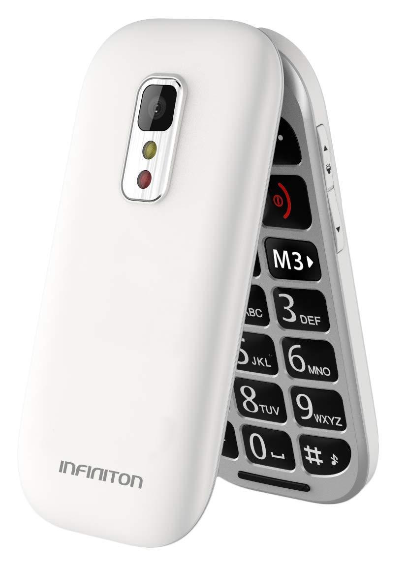 TELÉFONO MÓVIL INFINITON T1 Blanco: Amazon.es: Electrónica