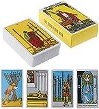 Set di 78 carte originali vintage con mazzo di tarocchi di Smith-Waite Rider, versione ing...