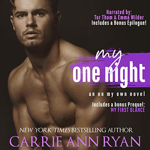 My One Night Audiobook By Carrie Ann Ryan cover art