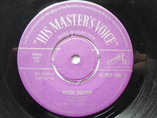 Witch Doctor - Don Lang And His Frantic Five 7' 45