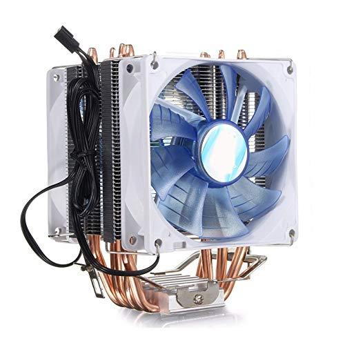 NINGXUE-MAOY Ventilador del Refrigerador del Refrigerador De La CPU De La CPU De La CPU De La CPU De 3 Clavijas para Intel LGA775 / 1150/1155 AMD AM2 / AM2 + / AM3 AM4 RYZEN Pasta TERMICA
