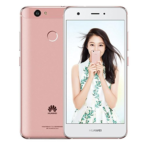 HUAWEI nova Cannes-AL10 64GB 5.0 Inch EMUI 4.1 (Android 6.0) Smartphone, Snapdragon625 Octa Core up to 2.0GHz, 4GB RAM GSM & WCDMA & FDD-LTE (Rose Gold)