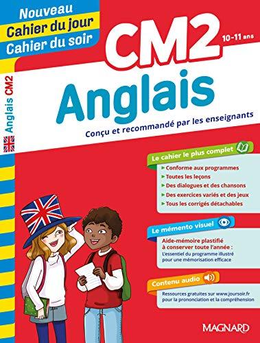 CM2 ANGLAIS CAHIER DU JOUR CAHIER SOIR