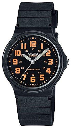 CASIO Herren Analog Quarz Uhr mit Resin Armband MQ-71-4