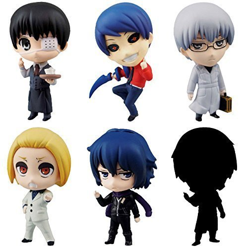 Aoshima Tokyo Ghoul SD Figure Swing Collection Vol.2 Set of 6