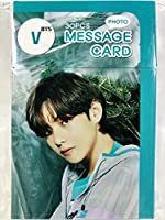 TradePlace V ブイ テテ - BTS 防弾少年団 グッズ / フォト メッセージカード 30枚セット - Photo Message Card 30pcs 韓流 K-POP 韓国製