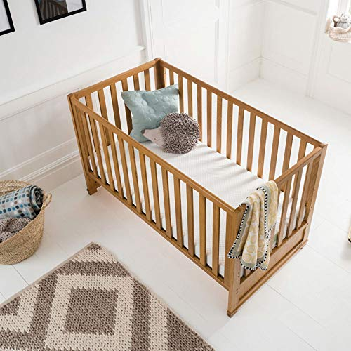 Silentnight Safe Nights Essentials Cot Mattress   120 x 60 cm   Foam & Chemical Free   Suitable from Birth