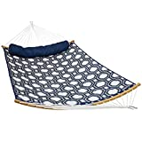 Sunnydaze Quilted 2-Person Hammock with 2-Piece Pull-Apart...