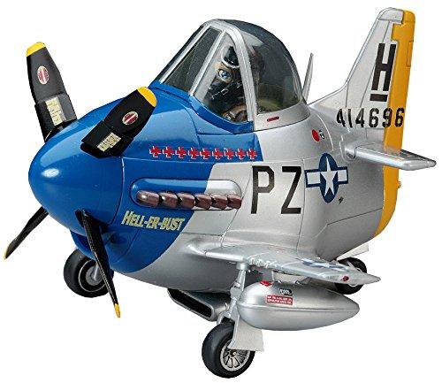 Hasegawa Egg Plane P-51 Mustang Model Kit