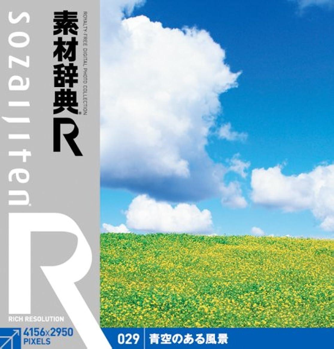 団結通りドール素材辞典[R(アール)] 029 青空のある風景
