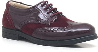 Titan Bordo Bağcıklı Klasik Erkek Çocuk Ayakkabı