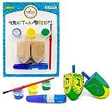 Craft-A-Dreidel, Create Your own Custom Dreidel, Fun and Educational (Single)
