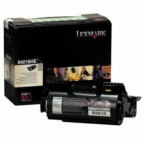 Original Toner Lexmark 64016HE Lexmark T640 T642 T644 (ca. 21.000 Seiten)